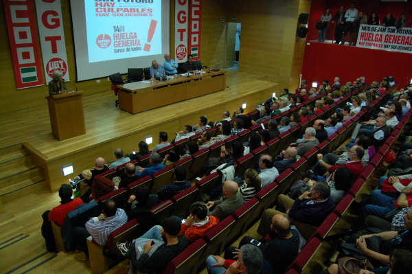 Sindicatos de Granada anuncian huelga general