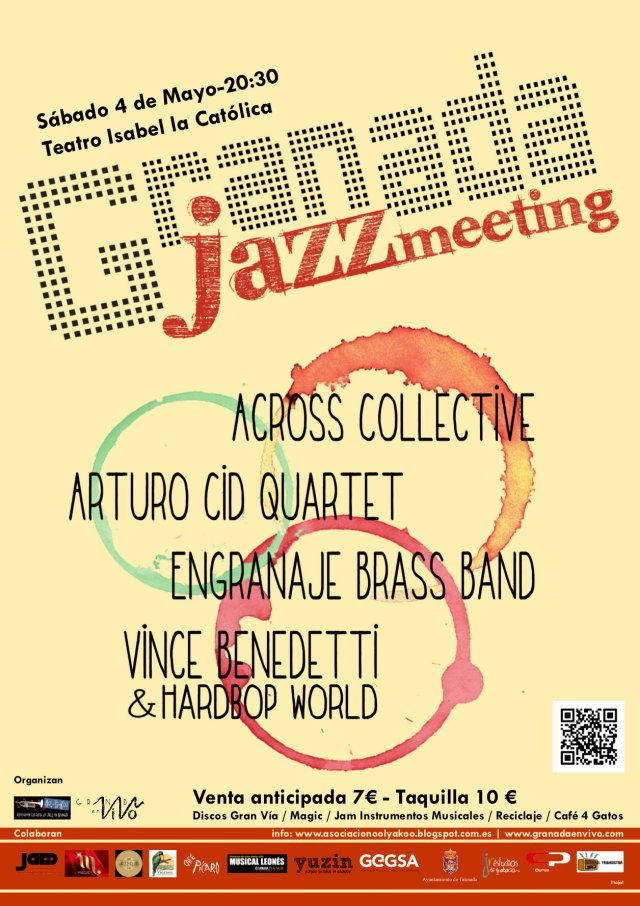 GRANADA JAZZ MEETING CARTEL